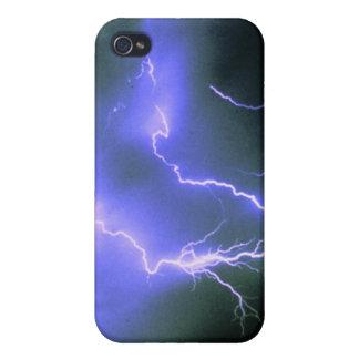 Encanto del relámpago iPhone 4/4S carcasas