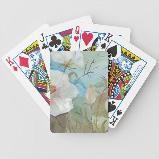 Encanto floral (vendido) baraja cartas de poker
