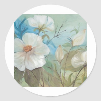 Encanto floral (vendido) classic round sticker