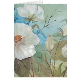 Encanto floral (vendido) greeting card