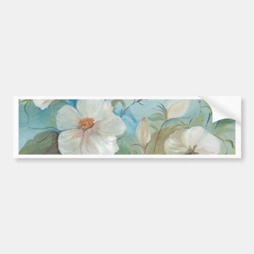 Encanto floral (vendido) pegatina para auto