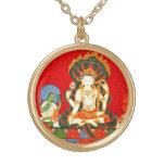 Encanto hindú de la bisutería del vintage de Vishn Collar Personalizado