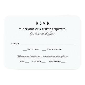 Encanto negro del vintage de la tarjeta el | de invitación 8,9 x 12,7 cm