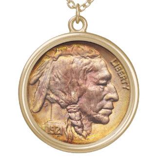 Encanto principal indio del colector de moneda de  colgantes