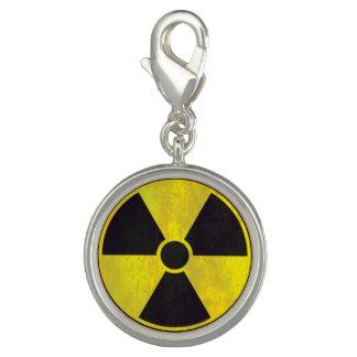 Encanto radiactivo de la señal de peligro el | dije