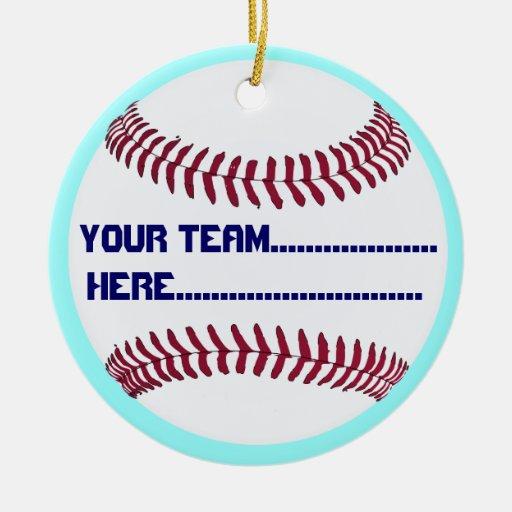 Encanto y recuerdo del deporte de América Ornamentos De Navidad