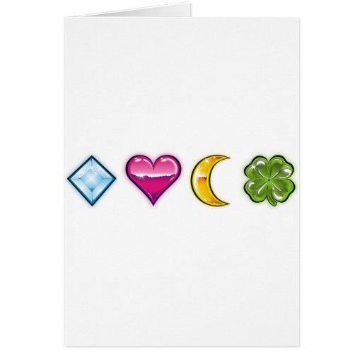 encantos 1 de la suerte tarjetas