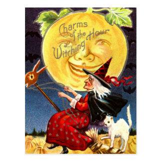 Encantos de la hora Witching Postales
