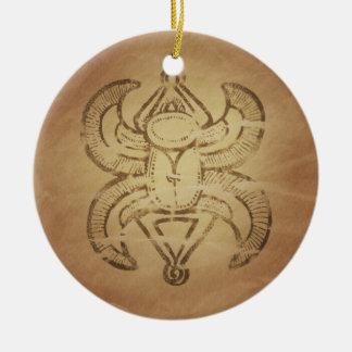 Encantos mágicos asirios del escarabajo de la buen ornamento para reyes magos