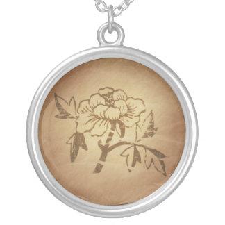 Encantos mágicos chinos del amor y del afecto del  collar personalizado