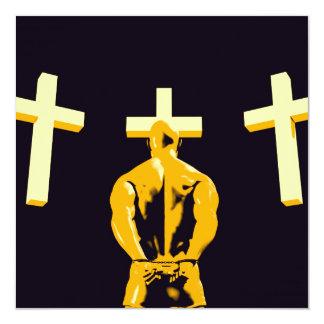 """Encarcele la prisión y el cristianismo de la invitación 5.25"""" x 5.25"""""""