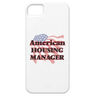 Encargado americano de la vivienda funda para iPhone 5 barely there