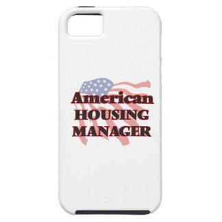 Encargado americano de la vivienda funda para iPhone 5 tough