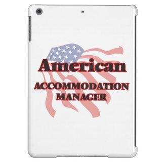 Encargado americano del alojamiento funda para iPad air