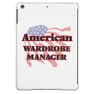 Encargado americano del guardarropa funda para iPad air