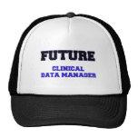 Encargado clínico futuro de los datos gorra