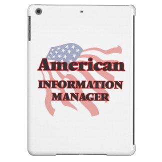 Encargado de información americano funda para iPad air