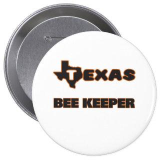 Encargado de la abeja de Tejas Pin Redondo 10 Cm