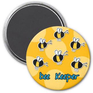 encargado de la abeja iman de nevera