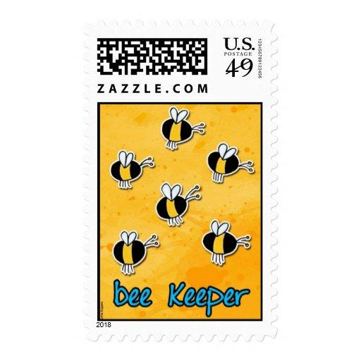 encargado de la abeja sellos