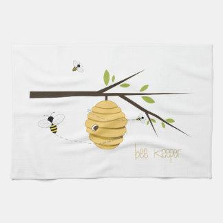 Encargado de la abeja toalla de cocina
