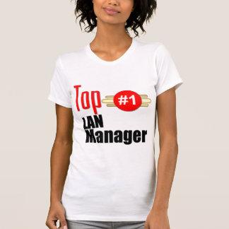 Encargado de Lan superior Camisetas
