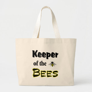 encargado de las abejas bolsa tela grande