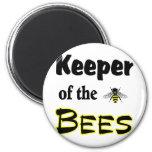 encargado de las abejas imán para frigorífico