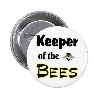 encargado de las abejas pin redondo 5 cm