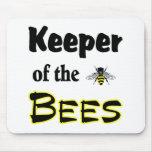 encargado de las abejas tapetes de raton
