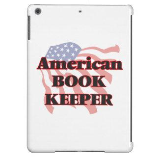 Encargado de libro americano funda para iPad air