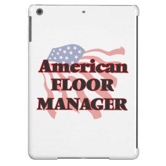 Encargado de piso americano funda para iPad air