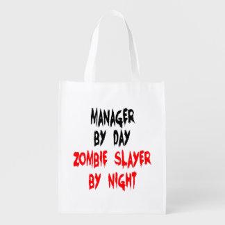 Encargado del asesino del zombi bolsa para la compra