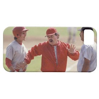 Encargado del béisbol que discute con el árbitro y iPhone 5 coberturas