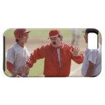 Encargado del béisbol que discute con el árbitro y iPhone 5 carcasas