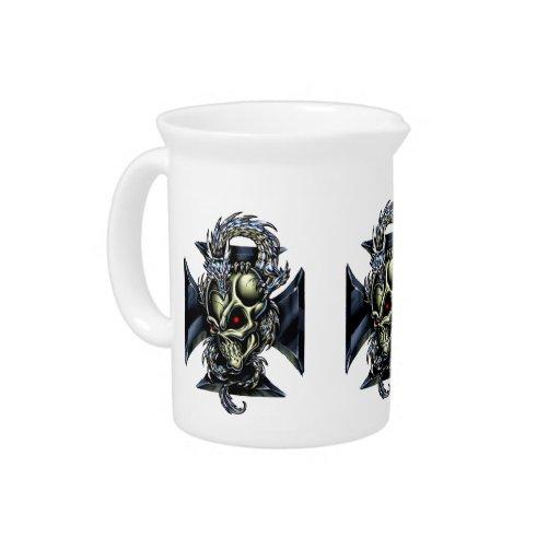 Encargado del dragón jarras de beber