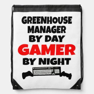 Encargado del invernadero por videojugador del día mochilas