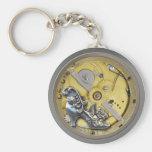 Encargado dominante de Steampunk Watchworks Llaveros Personalizados