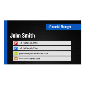 Encargado financiero - código elegante del tema QR Tarjetas De Visita