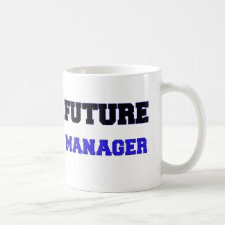 Encargado futuro tazas