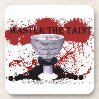 Encargado gris Master el unirse a de la corrupción Posavasos De Bebidas