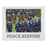 Encargados de la paz impresiones