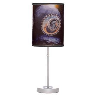 Encargados del tiempo lámpara de escritorio
