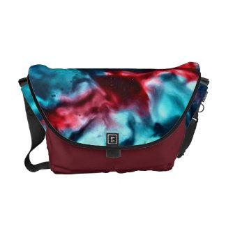 Encaustic Abstract Art Medium Messenger Bag