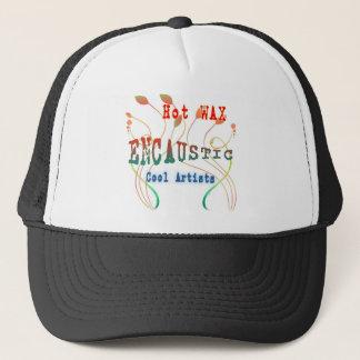 Encaustic Art Trucker Hat