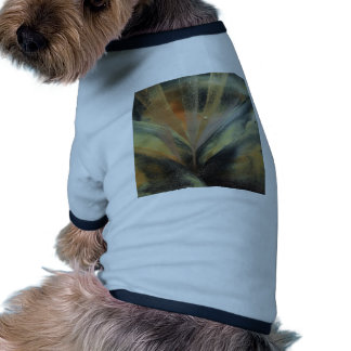 Encaustic black de oro ray ropa de perros