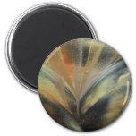 Encaustic black gold ray kühlschrankmagnete