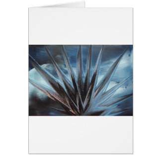 Encaustic Ice - Silver Abstract White Tarjeton