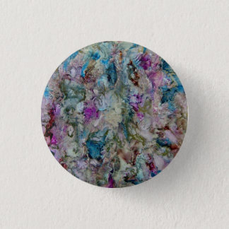 Encaustic Painting Pinback Button