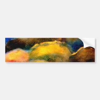 Encaustic,painting,sky, Bumper Sticker